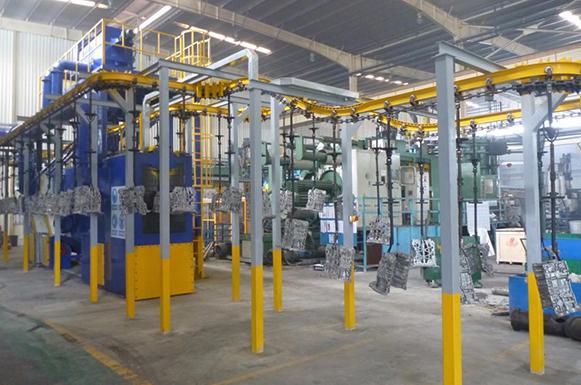 北京悬链抛丸机生产厂家
